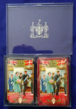 Worshipful 1957 Royal Visit to Denmark  Collectible playing cards